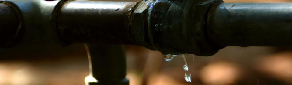 lekkage in waterleiding
